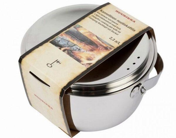 Muurikka kotlík na oheň – Campfire Casserole 2.3l