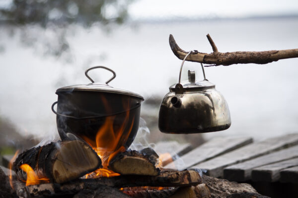 Muurikka konvička nad oheň Outdoor 0,8 l